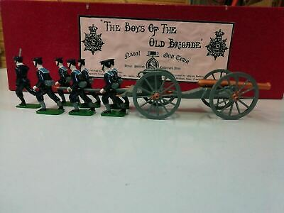 Rare Yorvik Figurines  Naval Gun Team And Gun • 85£