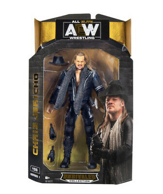 AEW Chris Jericho - Unrivalled Collection 16.5cm Figure In Hand Wwe Nxt • 33.95£