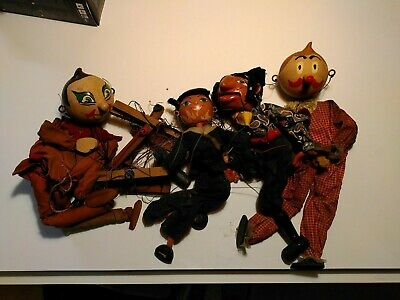Antique Puppets • 6.50£
