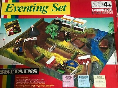 Britains Vintage Horse Eventing Set Boxed • 15£