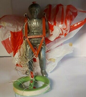 Vintage High Flying Kite Parachute 43  Parachute 9  Parachutist Made In Taiwan • 15£