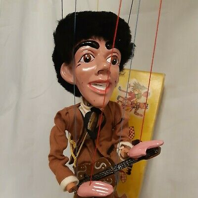 Pelham Puppets  Pop Singer   Made In England Instructions Boxed  • 95£