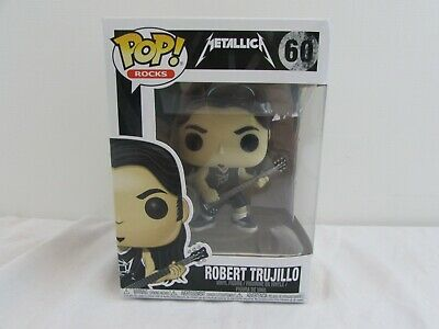 Funko Pop! Rocks - Metallica Robert Trujillo #60                  #wo#           • 14.99£