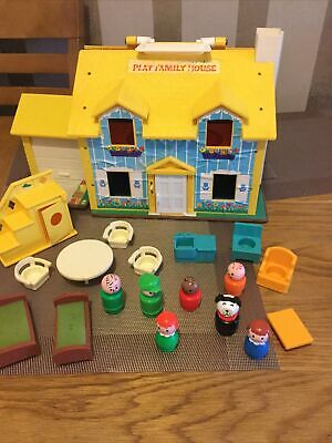 Vintage Fisher Price Play Family House 1969  • 0.99£