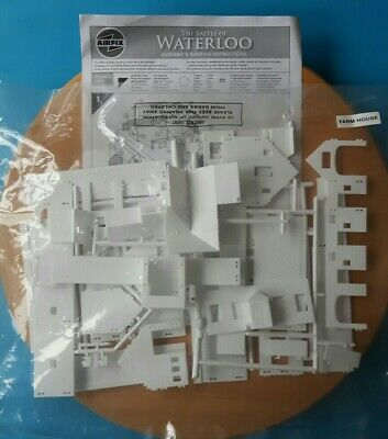 Airfix 1/72 Napoleonic WATERLOO FARMHOUSE Kit, Complete Set With Instructions • 10.55£