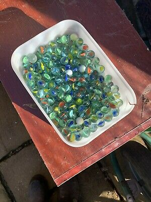 Job Lot Of Vintage Marbles • 2.70£