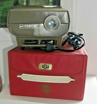 GAF VIEWMASTER 30 STANDARD PROJECTOR 1960's WITH CASE & INSTRUCTIONS RARE   H527 • 29.95£