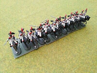 1/72 20mm Painted Napoleonic French Cuirassiers (1) • 36£