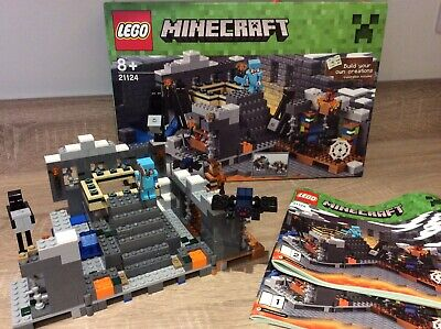 Lego Minecraft 21124 The End Portal - Complete With Box And Instructions • 40£