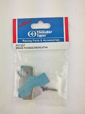 Thunder Tiger PD7257 Brake Pads & Screws MTA4 • 9.99£