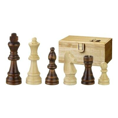 Chess Figures - Remus - Wood - Staunton - Kings Height 70mm • 29.81£