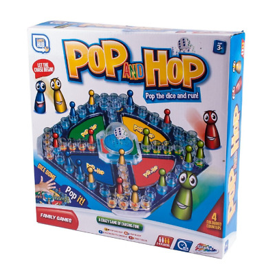 Pop And Hop Frustration Board Game Traditional Classic Kids Family Gift Toy • 6.98£