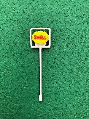 REPLICA Minic Motorways Spares -  Shell Sign For M1801 Filling Station  • 5.50£