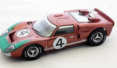 Carrera 1:24 Scale 23896 - Ford GT40 MKII #4 1966 - Slot Car With Working Lights • 69.30£