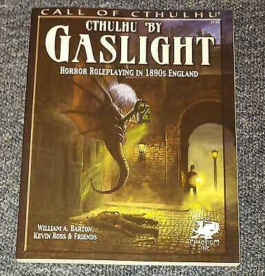 Cthulhu By Gaslight: Horror Roleplaying In 1890s England (Call Of Cthulhu...RARE • 79.99£