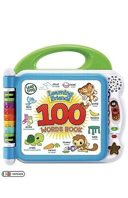 LeapFrog 601503 Learning Friends 100 Words Baby Book Educational And Interactive • 25.99£