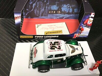 Pioneer Slot Car P119 Racing Legends 34 Ford Coupe Christmas Edition     • 49.95£