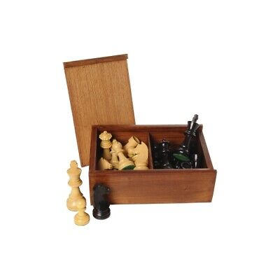 Chess Pieces Black Natural King's Height 95 MM • 81.95£
