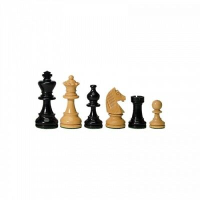 Chess Figures - Ebony And Boxwood - 76 MM • 85.52£