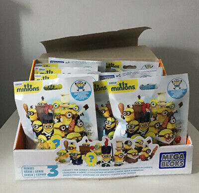 Minions Mega Bloks Series 3 X 20 Packs • 20£