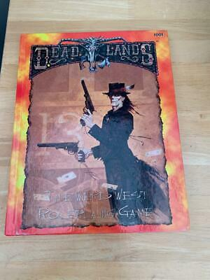 Deadlands The Weird West Roleplaying Game Hardcover Book • 10.50£