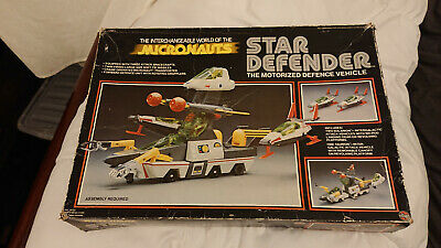 Micronauts Star Defender - Boxed , Almost Complete In Excellent Condition • 46£