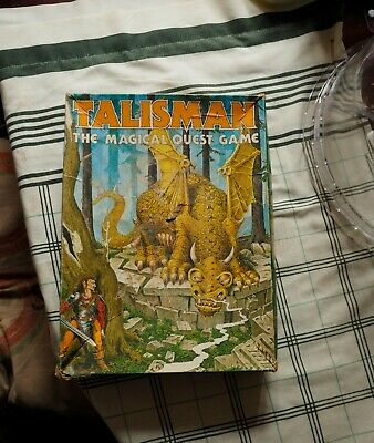 TALISMAN THE MAGICAL QUEST GAME  1st Edition COMPLETE - RARE • 10£