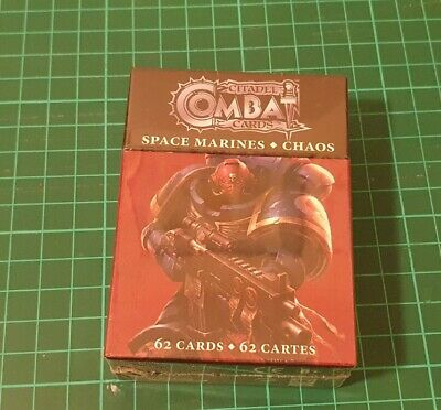 Citadel Combat Cards Space Marines And Chaos • 7.75£