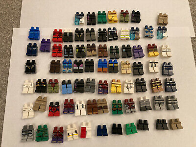 Joblot Of Genuine Lego Minifigure Legs From All Themes • 0.99£
