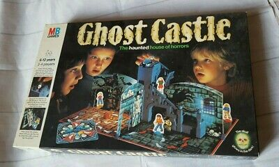 Ghost Castle Board Game MB Games 1985 100% Complete Very Good Condition • 80£