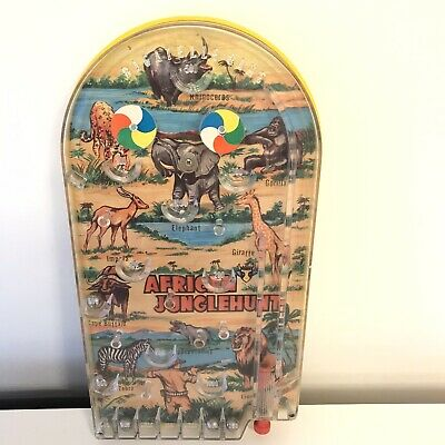 Vintage Bagatelle Game African Jungle Hunt Pinball Amusement Arcade • 29.95£