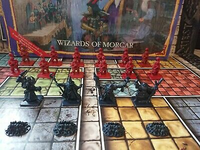 HeroQuest Wizards Of Morcar Expansion Complete Boxed Hero Quest Games Workshop • 51£