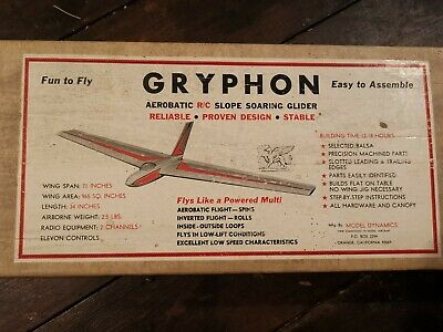 Gryphon Slope Soarer Model Glider Flying Wing  • 124£