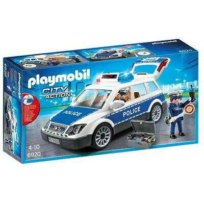 PLAYMOBIL Squad Car With Lights And Sound - City 6920 - New Boxed + Free 24h Del • 21.75£