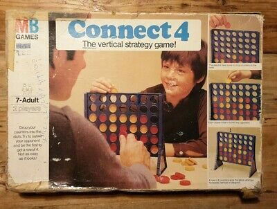 Connect 4  Vintage Game MB Games 1975 • 4.99£