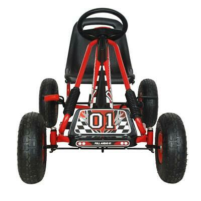 Kids Go Kart Ride On Car Pedal With Rubber Wheels Adjustable Seat Pedal Go-karts • 78.89£