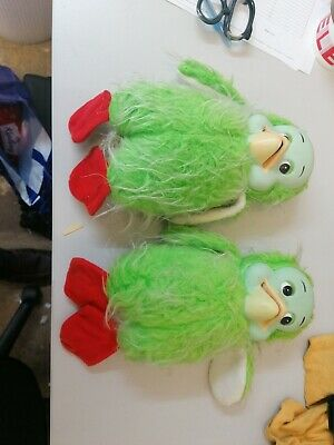 Vintage Orville The Duck Plush Toys 11  Tall X2 • 5.99£