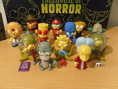 Kidrobot Simpsons Treehouse Of Horror Full Set All In Excellent Condition  • 160£