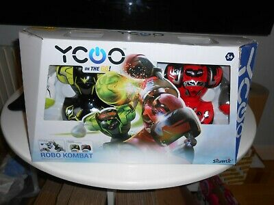 Robo Kombat Remote Control Twin Pack - Red/Green 5+ Years • 18.50£