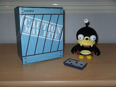 Kidrobot Futurama Nibbler Furry / Flocked Perfect Condition Boxed With Poop Tray • 39.95£