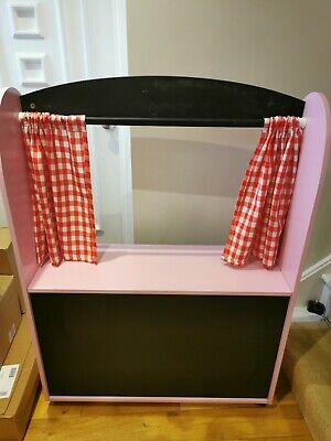 Great Little Trading Company Pink Wooden Shop/Puppet Theatre • 50£
