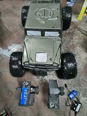 Fs RACING HUMMER HUMVEE 36CC REMOTE CONTROL 1/5TH SCALE • 102£