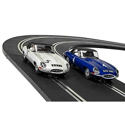 Scalextric Legends Jaguar E-Type First Race Win 1961 Limited Ed Twin Pack C4062A • 79.99£