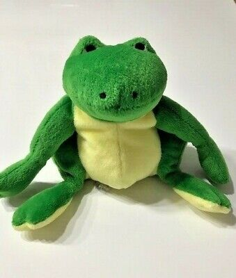 Cute Seated Frog Beanie - 6 Inches Seated • 5£
