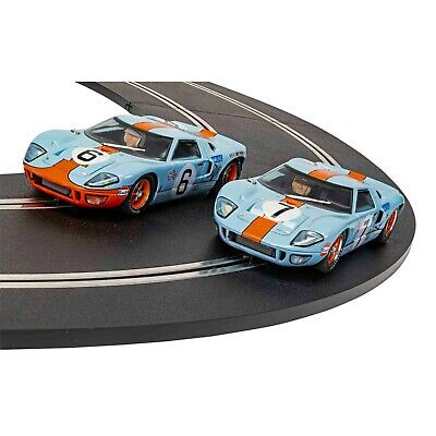 Scalextric Legends Ford GT40 1969 Gulf Twin Pack Limited Edition C4041A • 79.99£