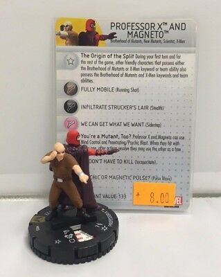 Professor X And Magneto #053- Marvel HeroClix • 4.10£