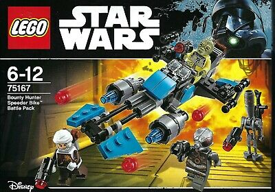 Lego Star Wars Bounty Hunter Battle Pack (75167) Retired Set, Free First P&P • 24.99£