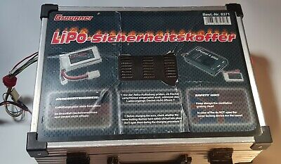 Charge Case (Lipo Storage Box) From Graupner 8371 Very Heavy RRP £300 • 115£