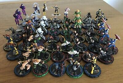 MARVEL Heroclix Ultimates 52 Different Pieces. • 20.99£