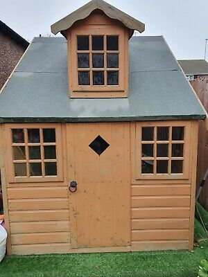 Children's Wooden Shire Cottage Playhouse • 600£